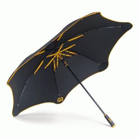 Зонт Blunt Golf_G2 Yellow (черный/жёлтый)