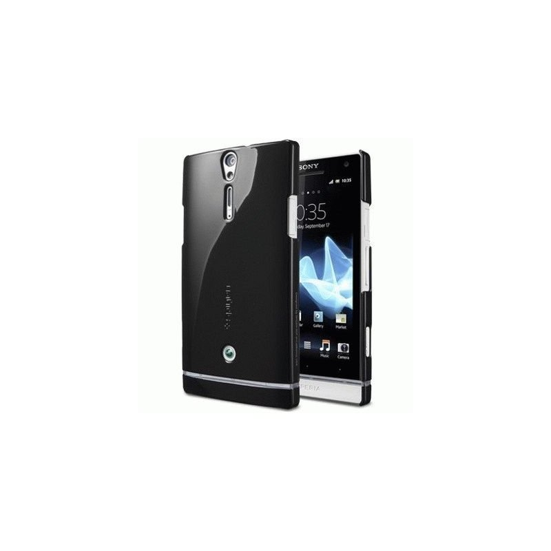 SGP Sony Xperia S LT26i Case Ultra Thin Air Vivid Series Reventon Black