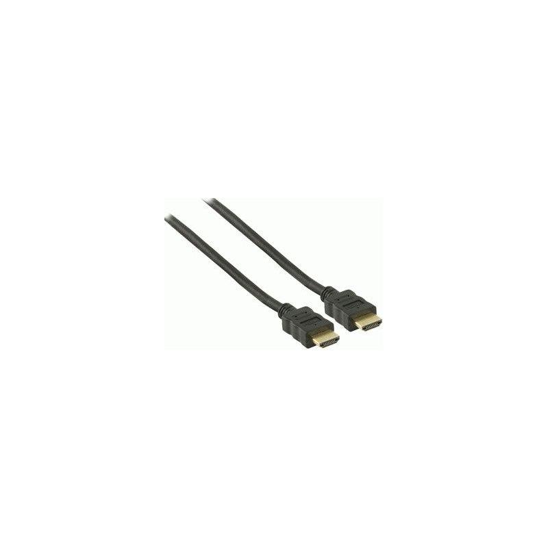 Кабель Valueline HDMI-HDMI 1,5m Black