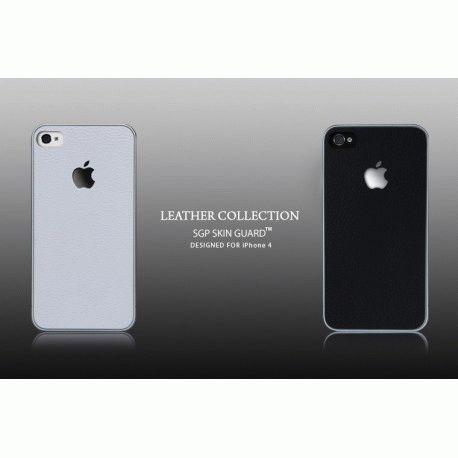 sgp-leather-deep-black-skin-guard-set-series-dlja-apple-iphone-4