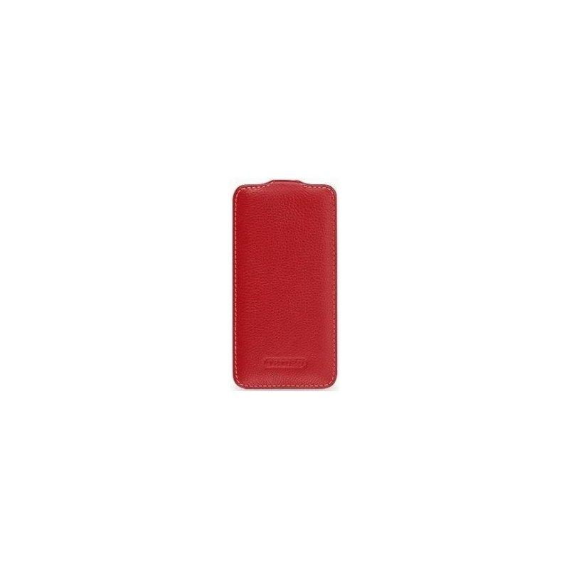 Кожаный чехол Tetded Flip для HTC One mini Red
