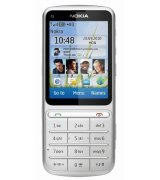 Nokia C3-01.5 Touch and Type Silver