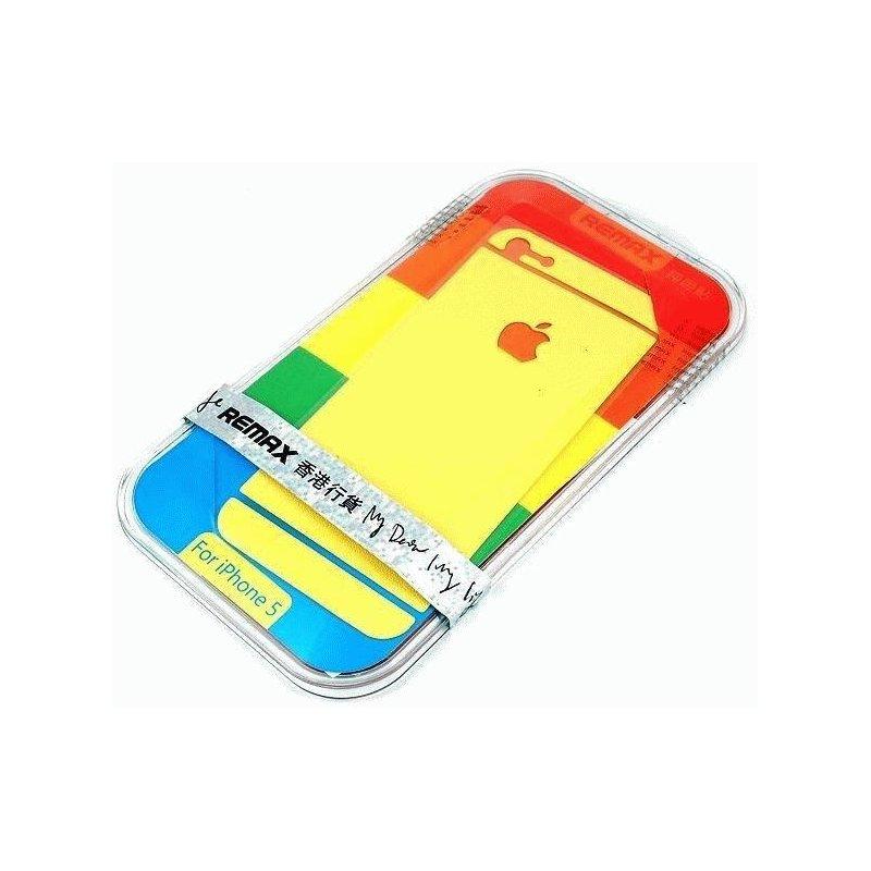 Декоративная плёнка 360 для Apple iPhone 5/5S Yellow
