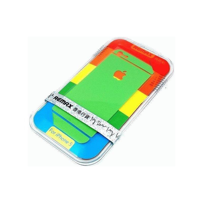 Декоративная плёнка 360 для Apple iPhone 5/5S Green