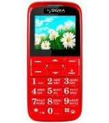 Sigma mobile Comfort 50 Slim Red