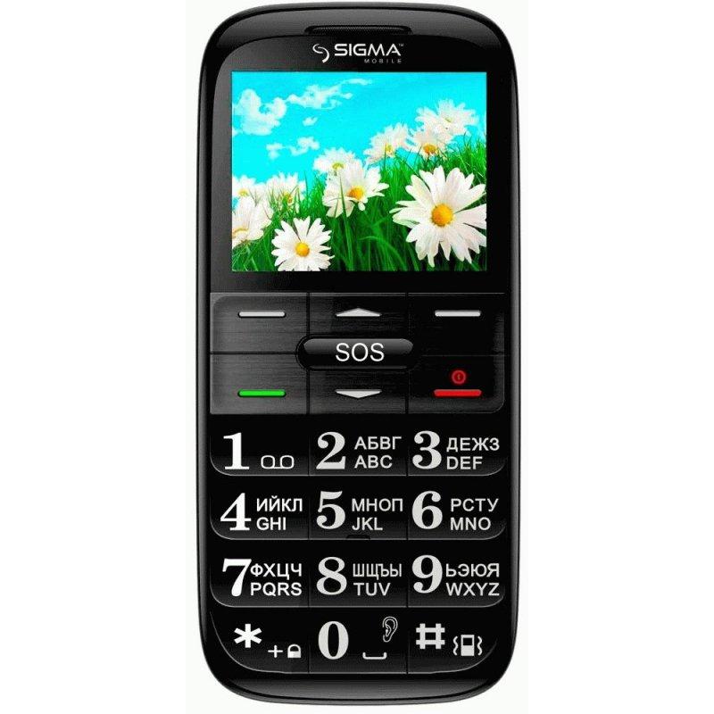 Sigma mobile Comfort 50 Slim Black-Red