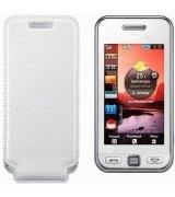 Чехол для Samsung S5230 Star White