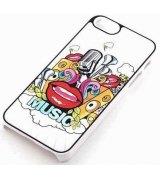 Накладка Mr. Orange Soft Touch для iPhone 5/5S Black