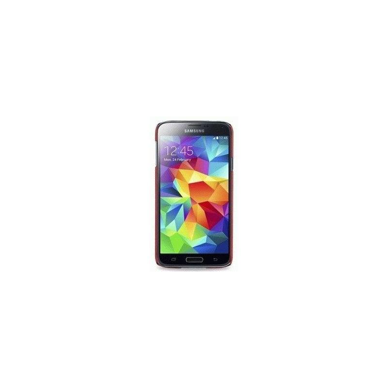 Кожаная накладка TETDED для Samsung Galaxy S5 G900 Red