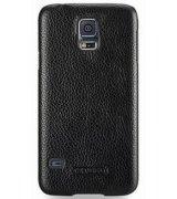 Кожаная накладка TETDED для Samsung Galaxy S5 G900 Black