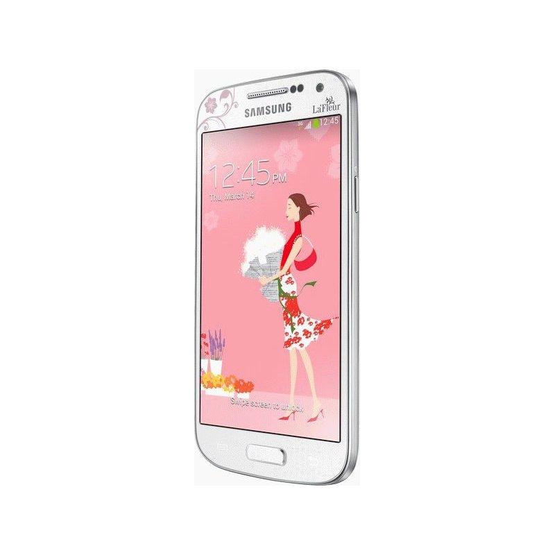 Samsung Galaxy S4 Mini Duos I9192 White La Fleur