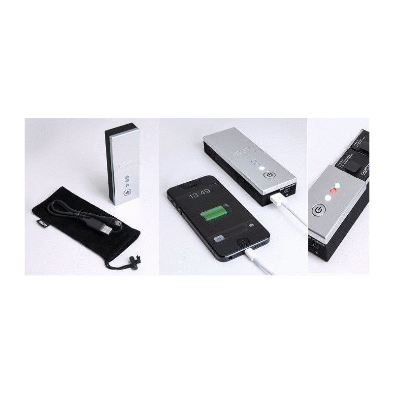Зарядное устройство GoPro SP POWERBAR DUO (53040)