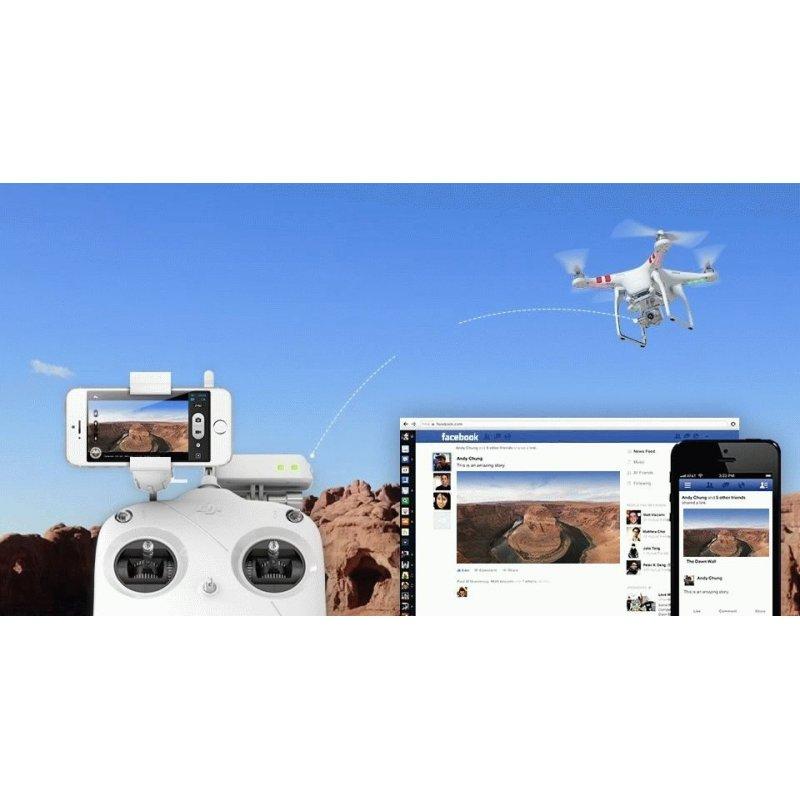 Квадрокоптер DJI Phantom 2 Vision Plus + battery (DJI-P2VB+B)
