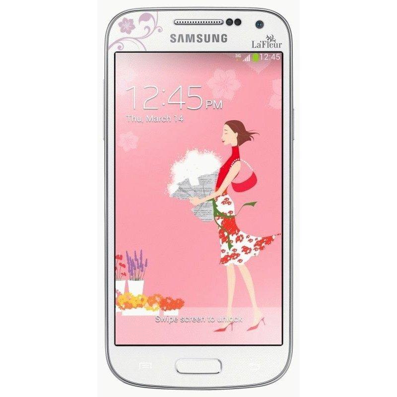 Samsung Galaxy S4 i9500 White La Fleur