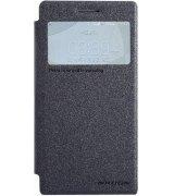 Кожаный чехол Nillkin Spark series для Huawei Ascend P7 Black