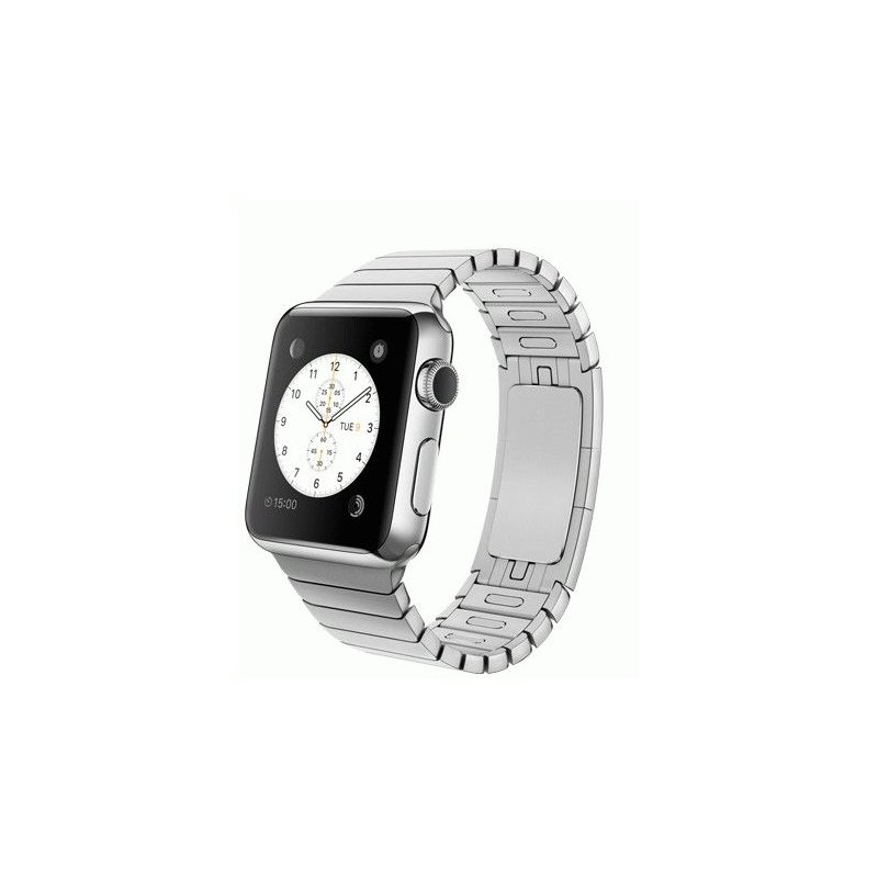Apple Watch 38mm Stainless Steel Case with Stainless Steel Link Bracelet