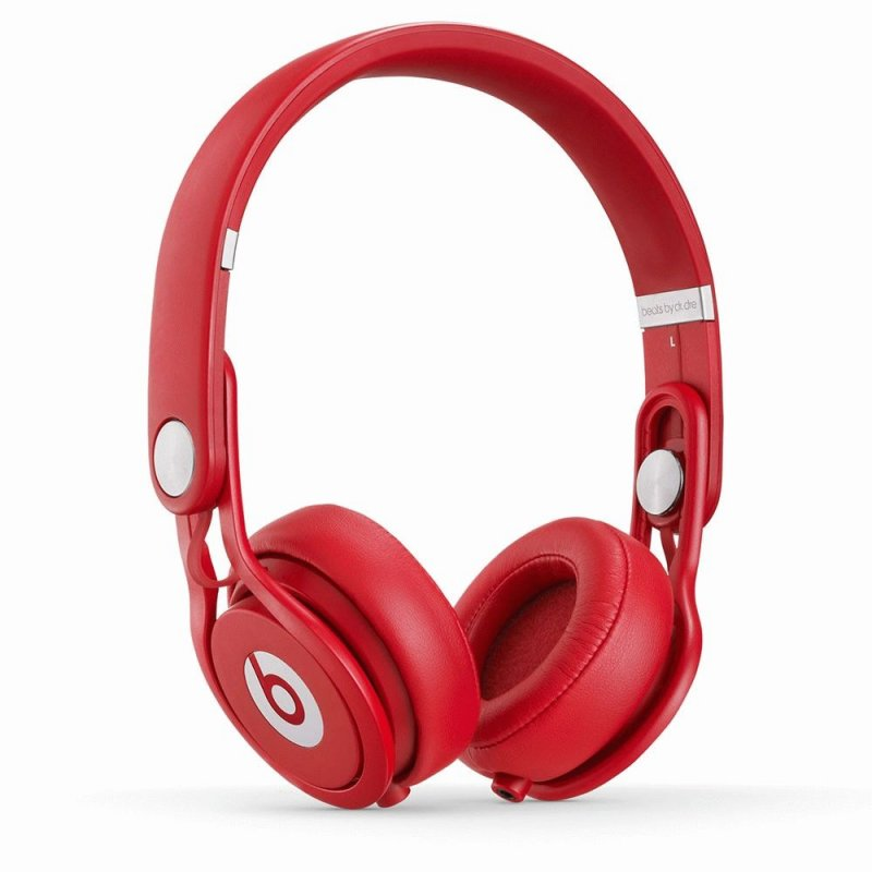 Beats by Dr. Dre Mixr David Guetta On Ear Headphone Red (BTS-900-00025-03)