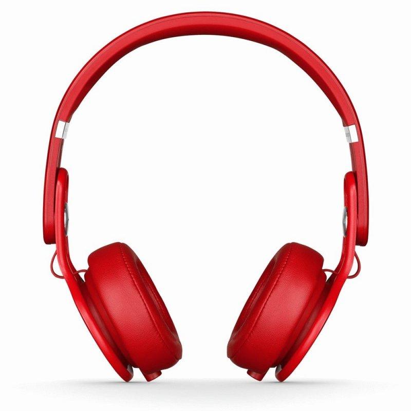 Beats by Dr. Dre Mixr David Guetta On Ear Headphone Red (BTS-900-00025-03)