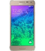 Samsung G850F Galaxy Alpha Frosted Gold