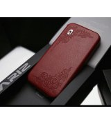 SGP iPhone 4/4s Leather Case Gariz Edition Series Floral Red