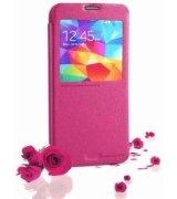 Кожаный чехол Nillkin Fresh для Samsung Galaxy S5 Pink