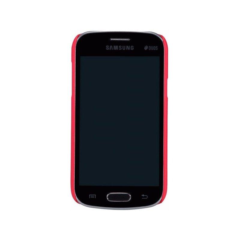 Пластиковая накладка Nillkin Super Frosted Shield для Samsung Galaxy Trend S7390 Red