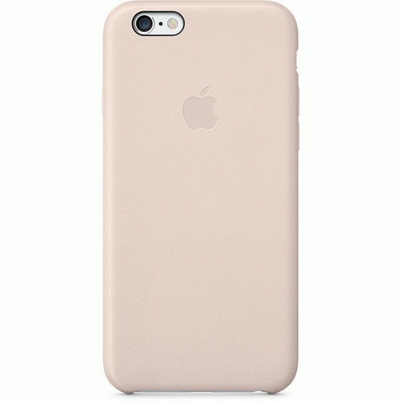 Чехол Apple iPhone 6 Leather Case Soft Pink (MGR52)