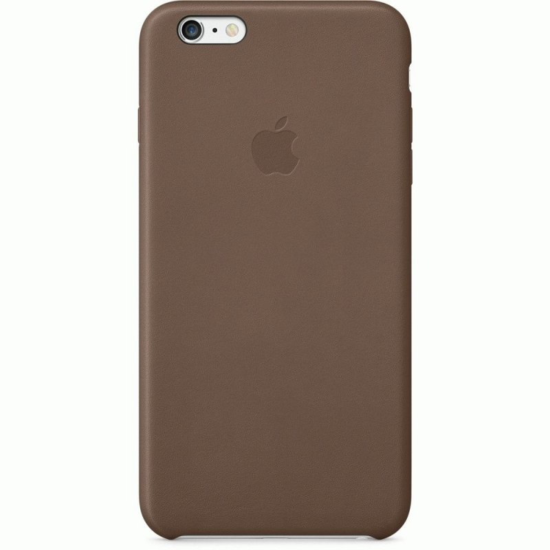 Чехол Apple iPhone 6 Plus Leather Case Olive Brown (MGQR2)