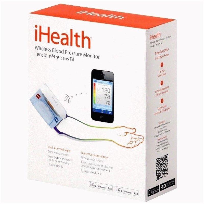 Тонометр iHealth BP5 (iPhone/iPad) на бицепс