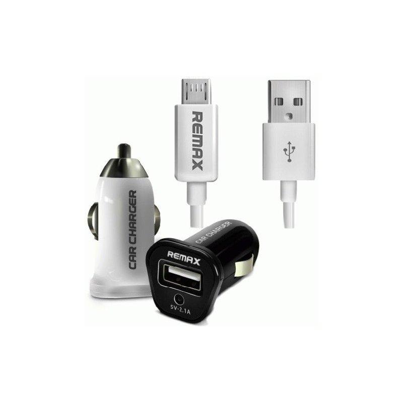 Автомобильное зарядное устройство Remax USB Car Charger White