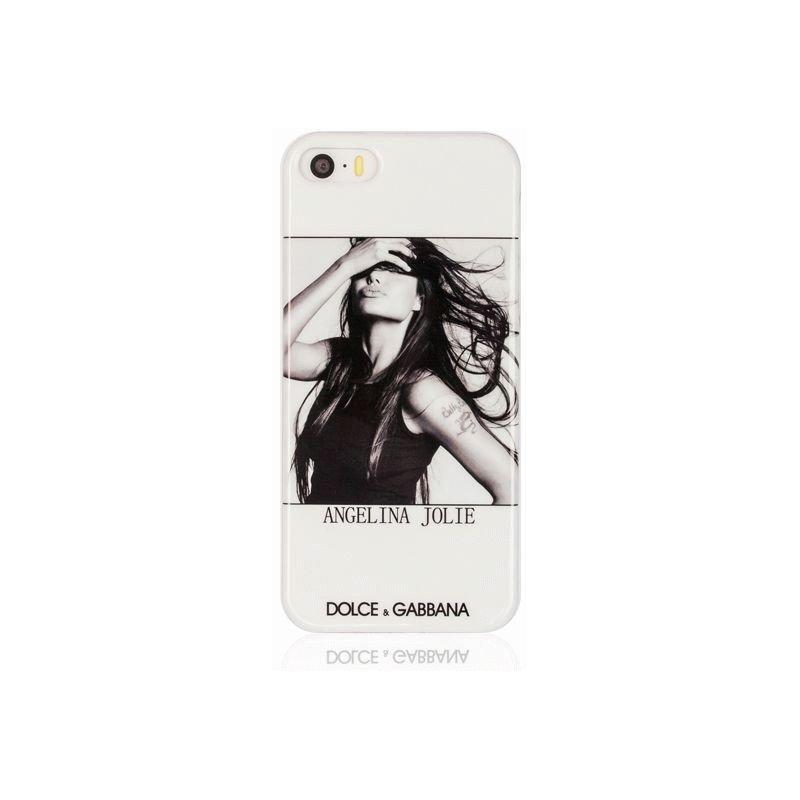 Dolce & Gabbana накладка для iPhone 5/5S Angelina Jolie