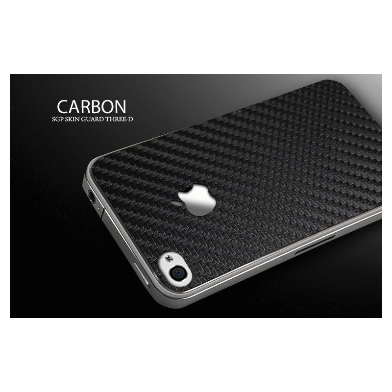 sgp-leather-carbon-black-skin-guard-set-series-dlja-apple-iphone-4