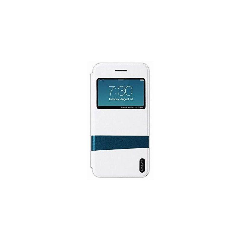 Чехол USAMS Case Lange Series для Apple iPhone 6 White