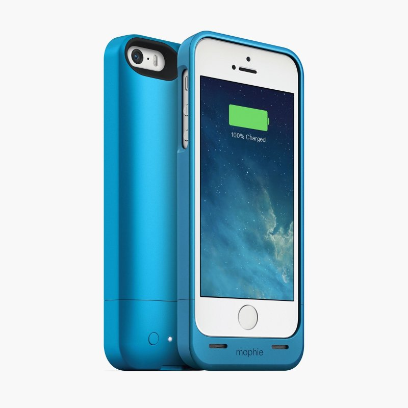 Mophie Juice Pack Helium Blue 1500 mAh для iPhone 5/5S (2542-JPH-IP5-BLU-I)