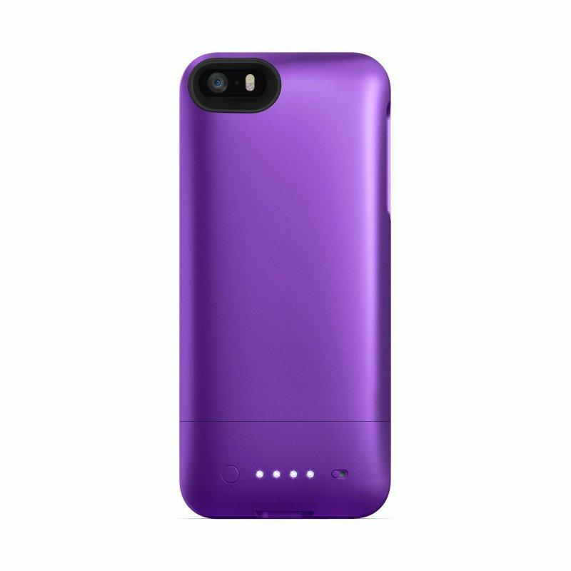 Mophie Juice Pack Helium Purple 1500 mAh для iPhone 5/5S (2543-JPH-IP5-PRP-I)