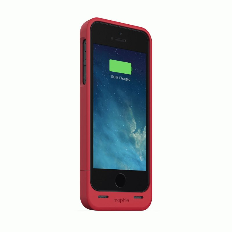 Mophie Juice Pack Helium Red 1500 mAh для iPhone 5/5S (2377-JPH-IP5-RED-I)