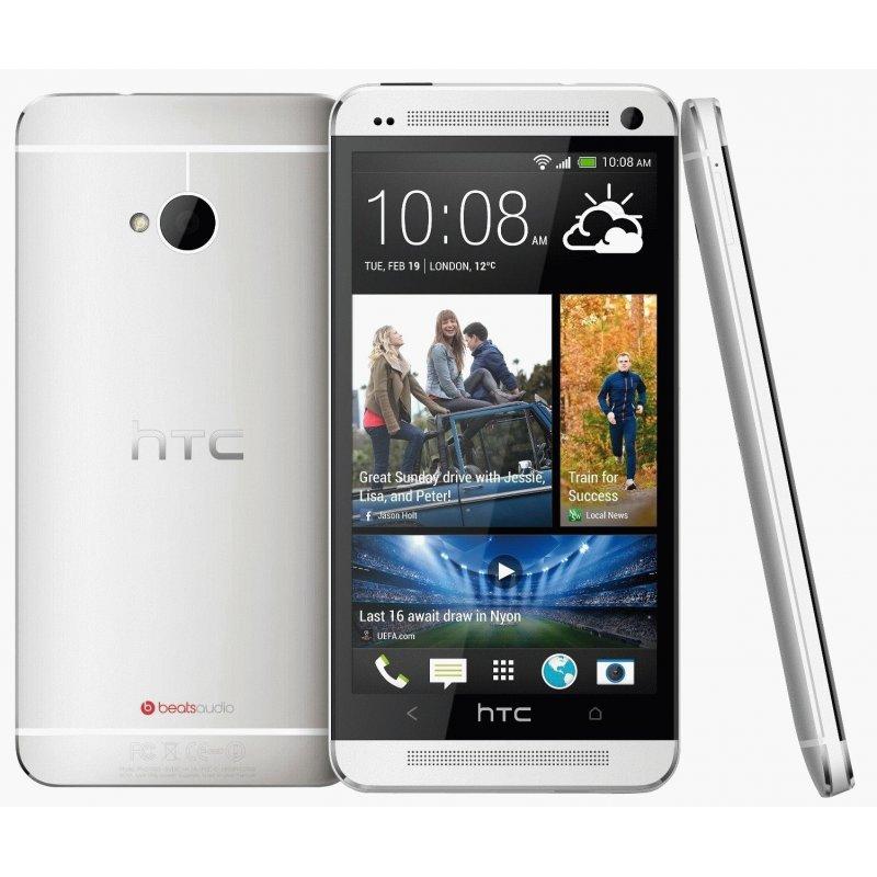 HTC One Dual SIM 802w Glacier White EU