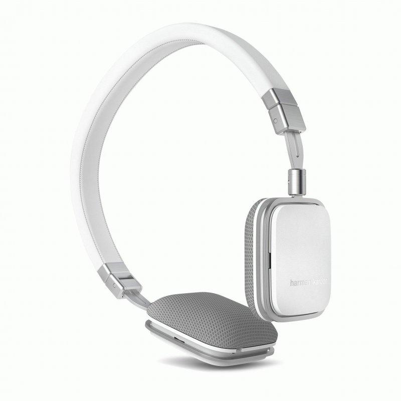 Harman Kardon On-Ear Headphones Soho A White (HKSOHOAWHT)
