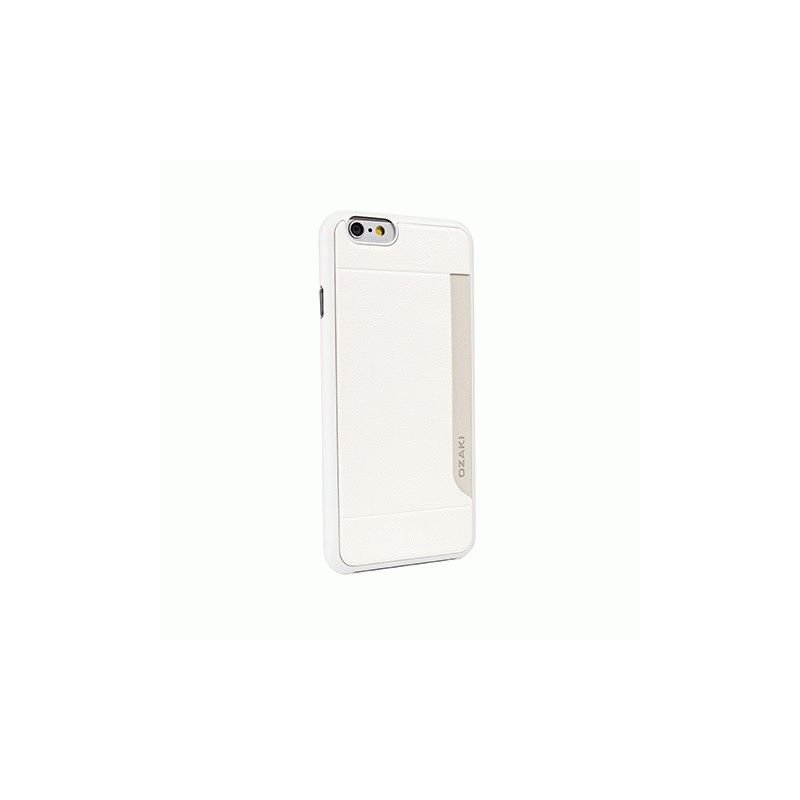 Накладка Ozaki O!coat-0.3+Pocket для Apple iPhone 6 White OC559WH