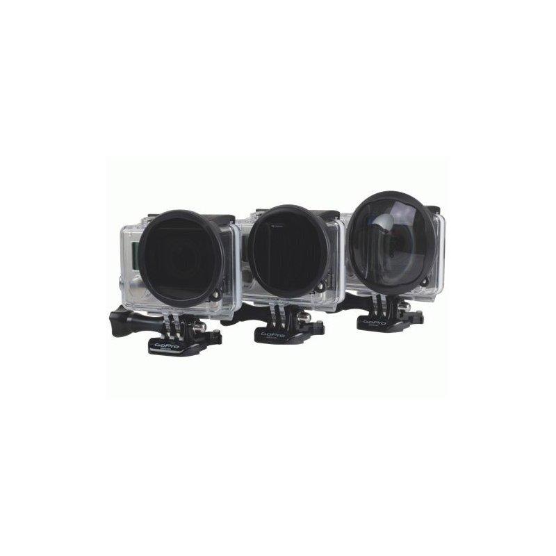 Комплект светофильтров Hero3+ Venture Three Pack для GoPro (P1015)