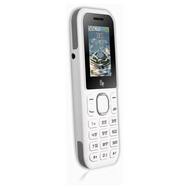 Fly DS107D Dual Sim White