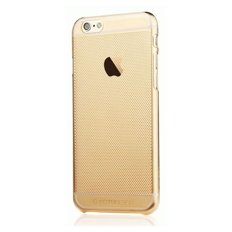 TPU накладка TOTU Air Cover для IPhone 6 Plus Gold