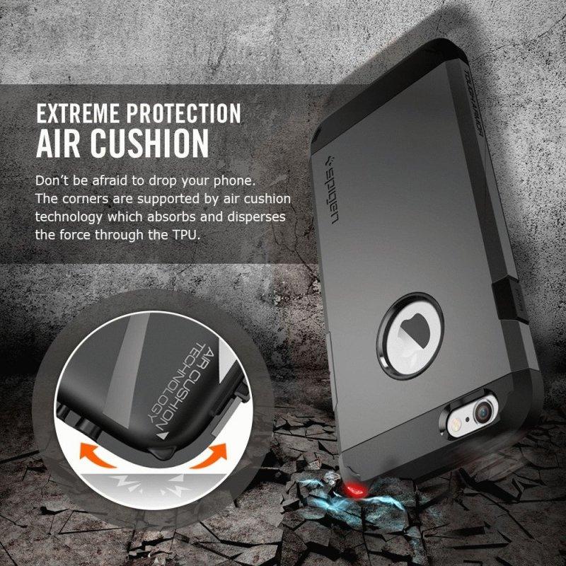 SGP iPhone 6 Case Tough Armor Gun Metal (SGP11022)