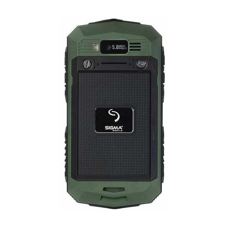 Sigma mobile X-treme PQ15 Green/Black
