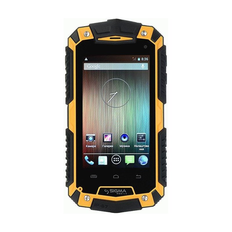 Sigma mobile X-treme PQ15 Black/Orange