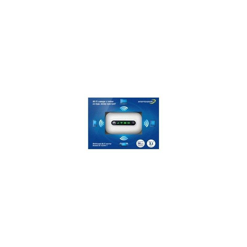 Коробочное решение Интертелеком «Мобильный 3G WiFi роутер» Модем Huawei EC5220u-1
