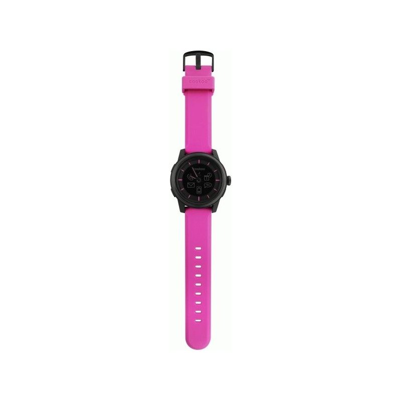 Часы COOKOO Watch BlackOnPink (CKW-KP002-01)
