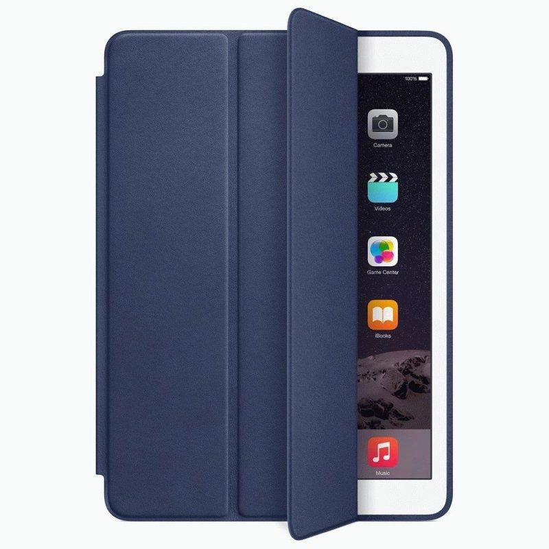 Чехол Apple iPad Air 2 Smart Case Leather Midnight Blue (MGTT2)