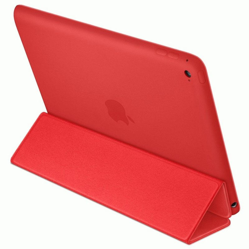 Чехол Apple iPad Air 2 Smart Case Leather Red (MGTW2)