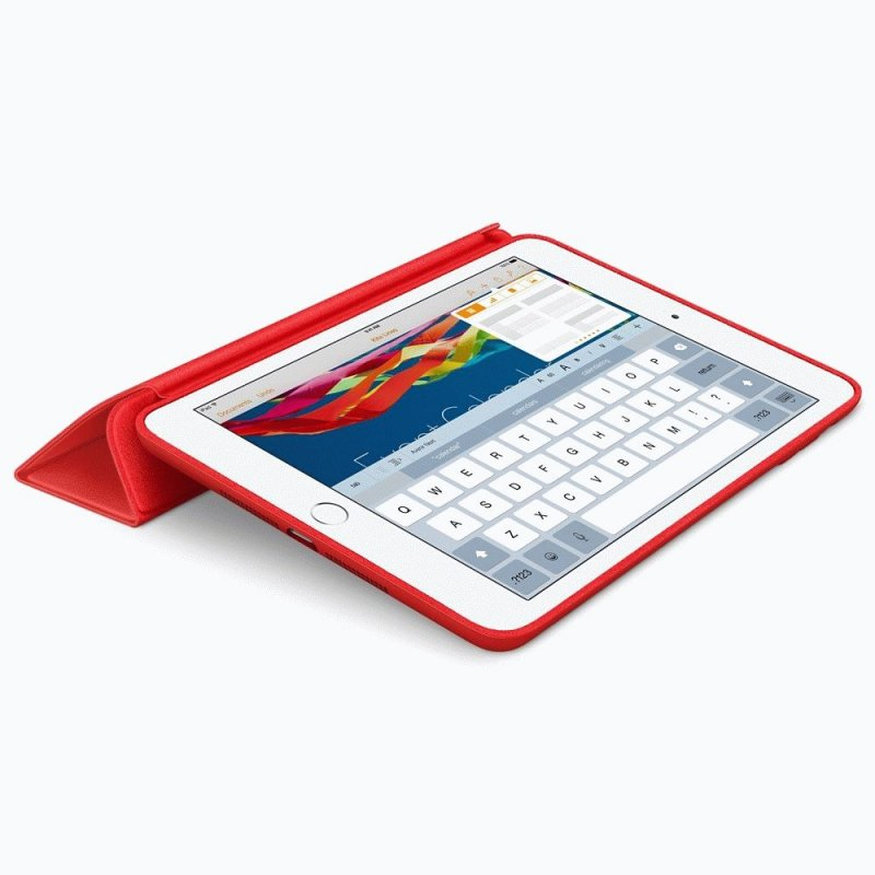 Чехол Apple iPad Mini 3 Smart Case Leather Red (MGND2)